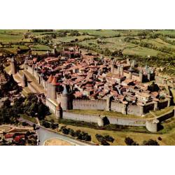 Cité de Carcassonne vue du Ciel