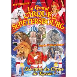 tarif réduit Cirque de St Petersbourg Montpellier