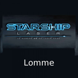 7,50€ Tarif ticket partie Starship Laser Lomme