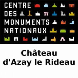 Prix visite Château Azay le rideau moins cher