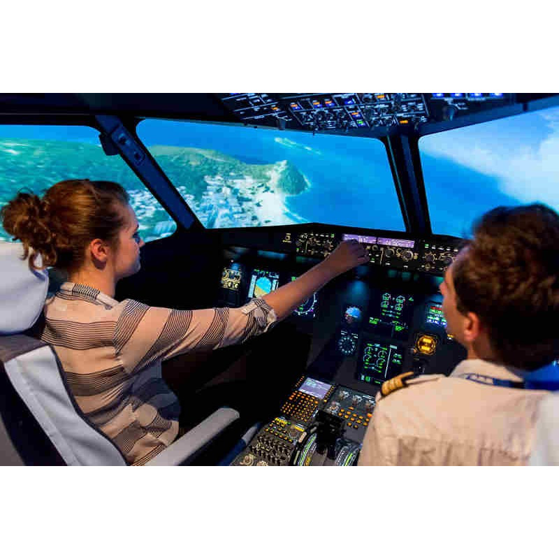 Simulateur avion de ligne Aviasim Nice -15% avec Accès CE