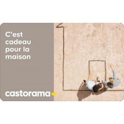 E-carte Castorama moins chère