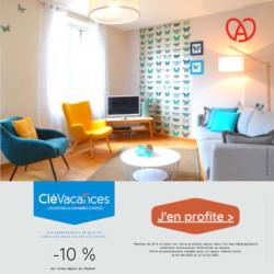 -10% code avantage Chambre d'hôte CléVacances