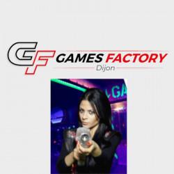 Lasergame Dijon Game Factory ticket à 6,00€
